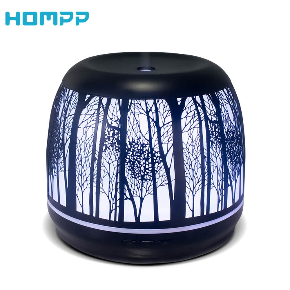 500 ML Ultrasonic Metal Aromatherapy Diffuser