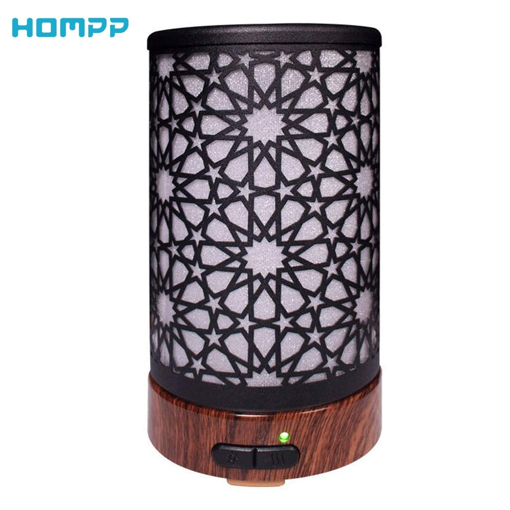 100 ML Ultrasonic Metal Aromatherapy Diffuser