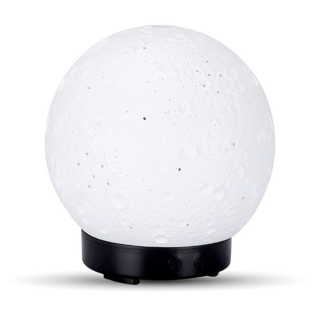 100ml Ultrasonic Aromatherapy Diffuser with Ceramic Moon Bulb