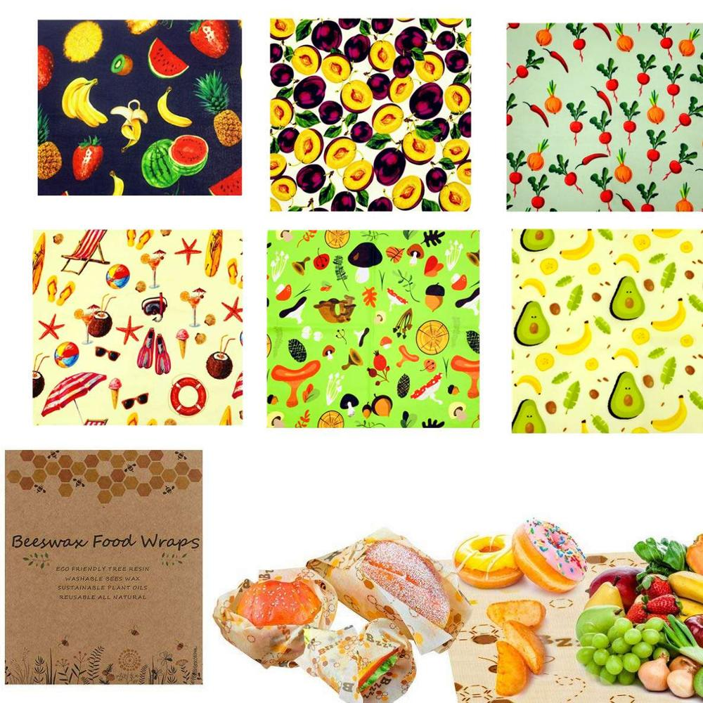 Reusable Beeswax Food Wrap - Say Goodbye to Plastic!