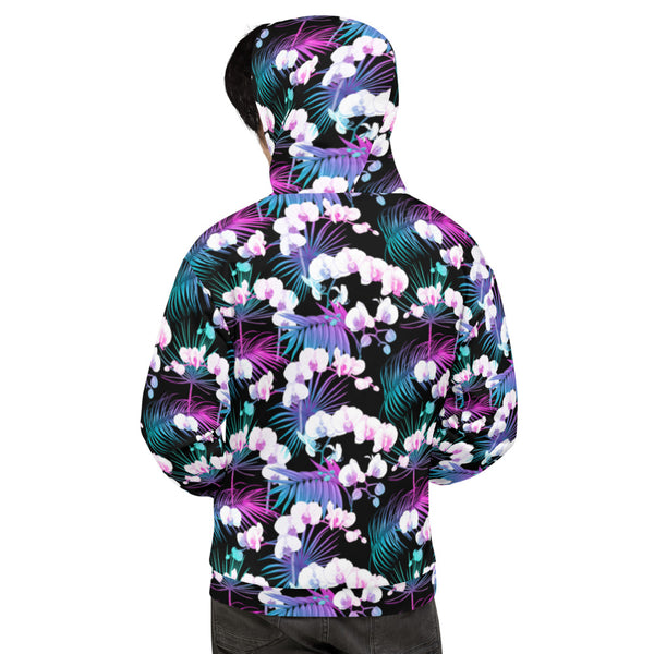 NEON ORCHIDS • HOODIE