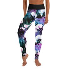 Load image into Gallery viewer, NEON ORCHID • YOGA LEGGINGS