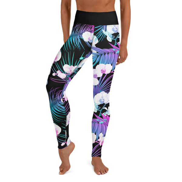 NEON ORCHID • YOGA LEGGINGS