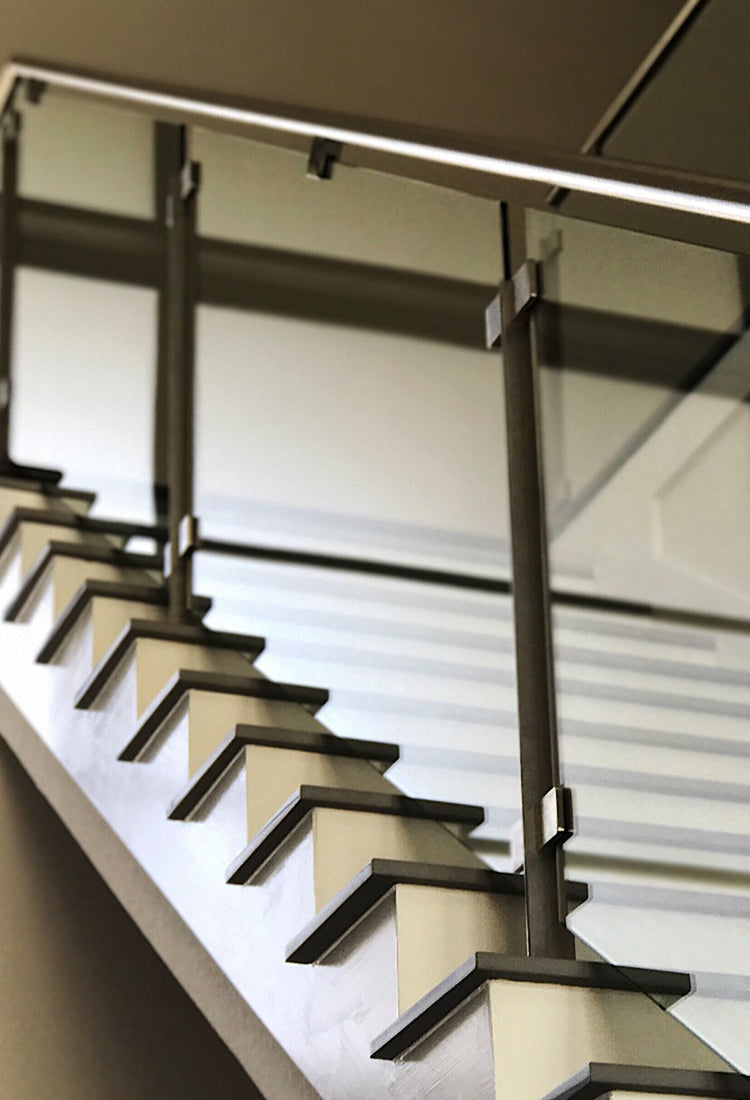 Stainless Steel Glass Stair Railing System
