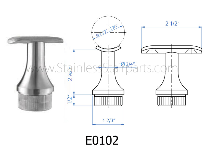 E0102 Handrail Support