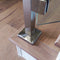 Stainless Steel E02052 Square Newel Post, Rail & Wall Anchorage Canopy