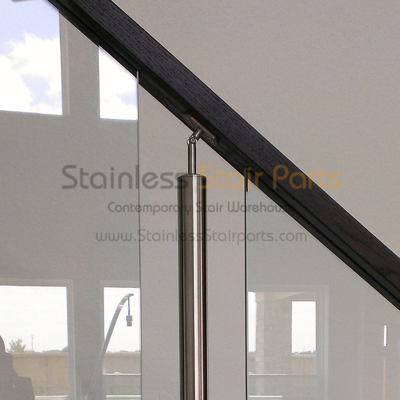 E011976 Stainless Steel Flat Handrail Adapter Plate