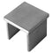 E1100150 Stainless Steel Square Cap Railing End Cap