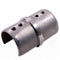 E1200100 Stainless Steel Cap Railing Flush Connector