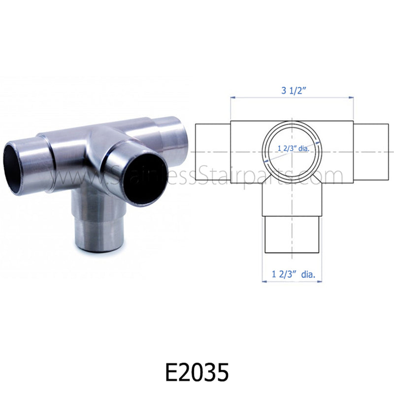 E2035 4-Way Corner Fitting