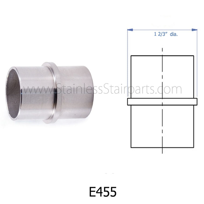 E455 Stainless Handrail Connector