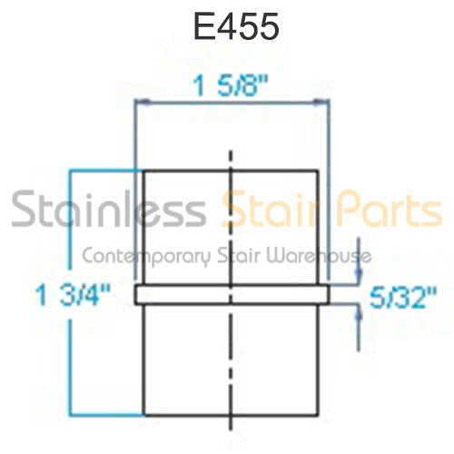 E455 Stainless Steel Connector