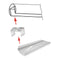 Stainless Steel ELED0006 LED Strip Light Cover Holder