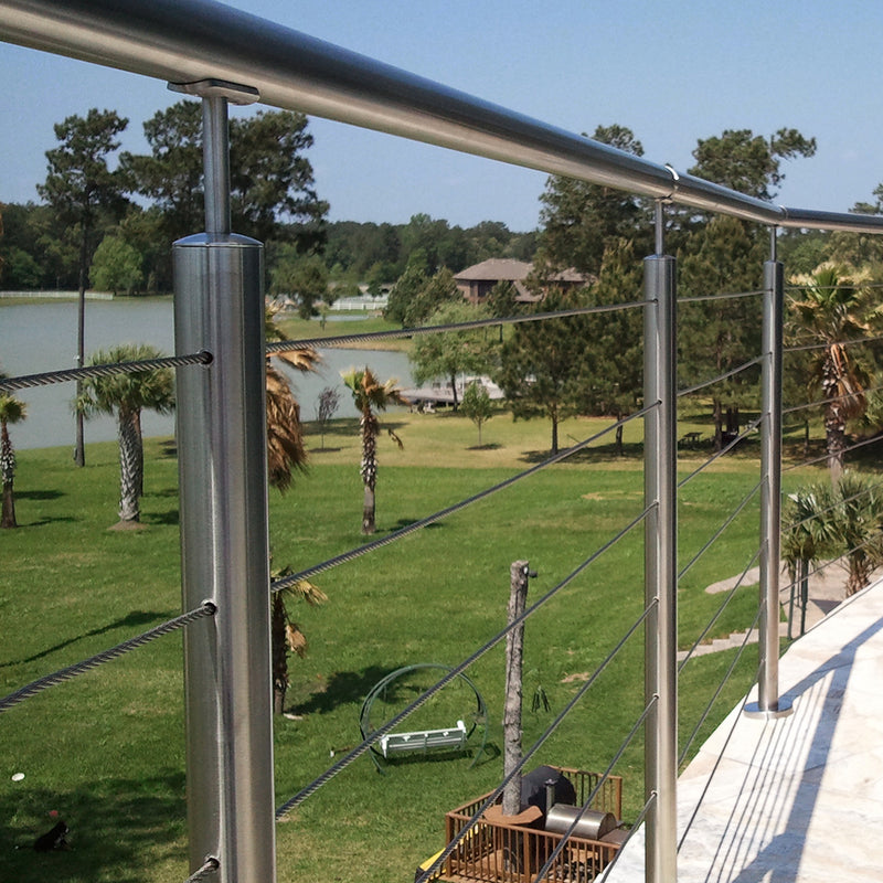 Stainless Steel Cable Railing System Modern