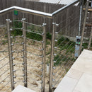 Modern Stainless Steel Cable Railing System