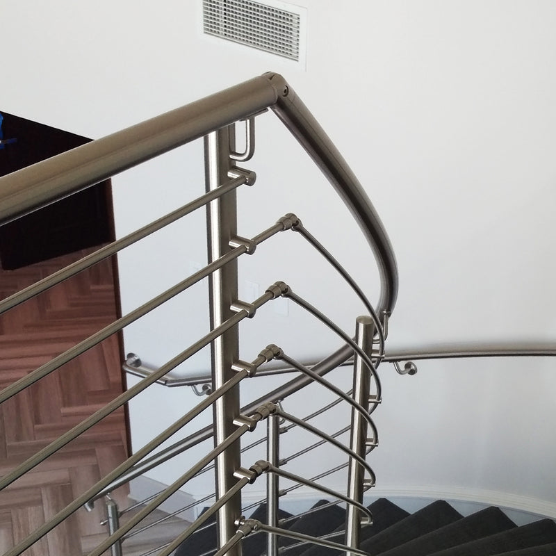 Stainless Steel Round Bar Railing System