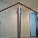 Contemporary Staircase Stainless Steel Newel Post Pre-drilled