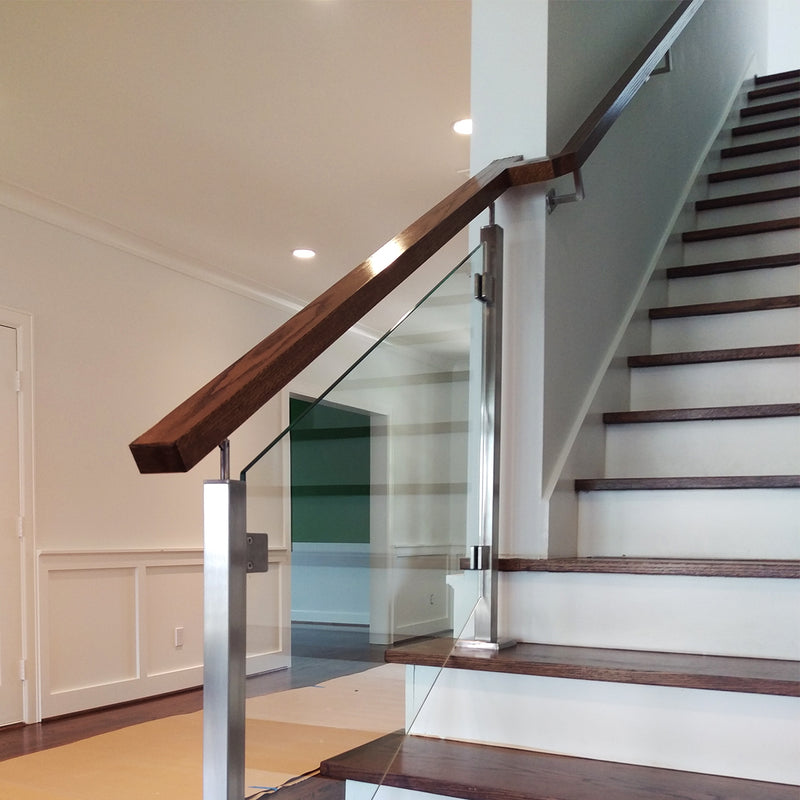 Modern Staircase Rigid Wall Rail Bracket Support