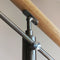 E500/424 Adjustable Height Handrail Support