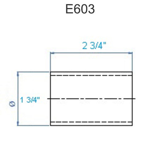 E603 Stainless Steel Connector