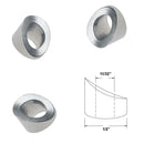 Stainless Steel Sloping Washer for Round Newel Post