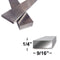 EP15X5 Contemporary Stainless Steel Stair Railing Flat Bar