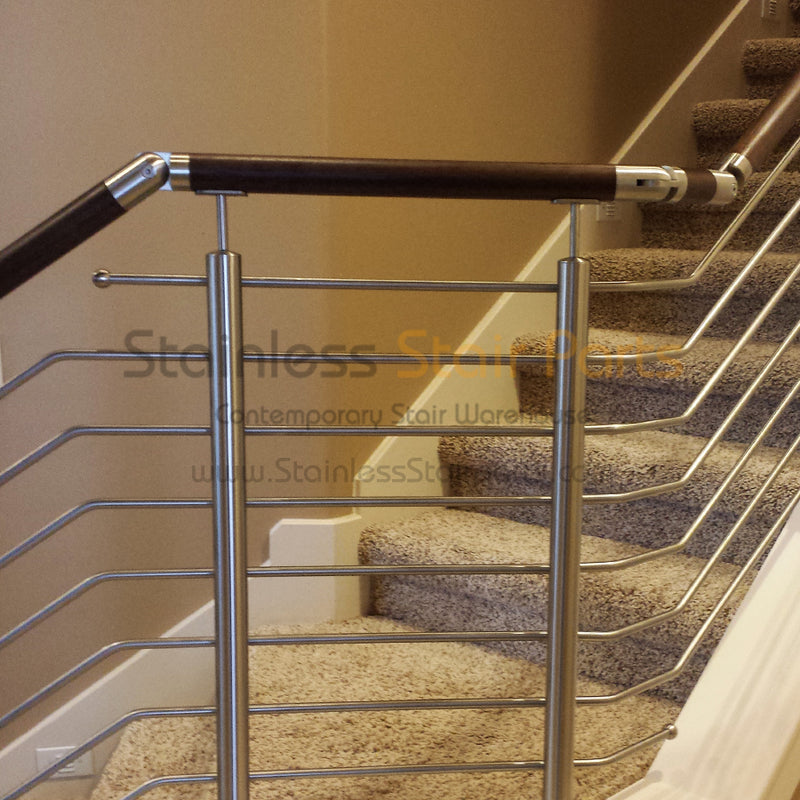 Stainless Steel Balcony Handrail Support