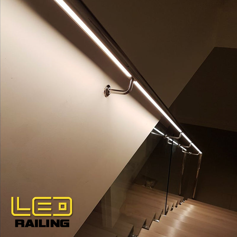 Modern Stainless Steel LED Railing System