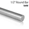 "Stainless Steel 1/2"" Solid Round Bar E005"