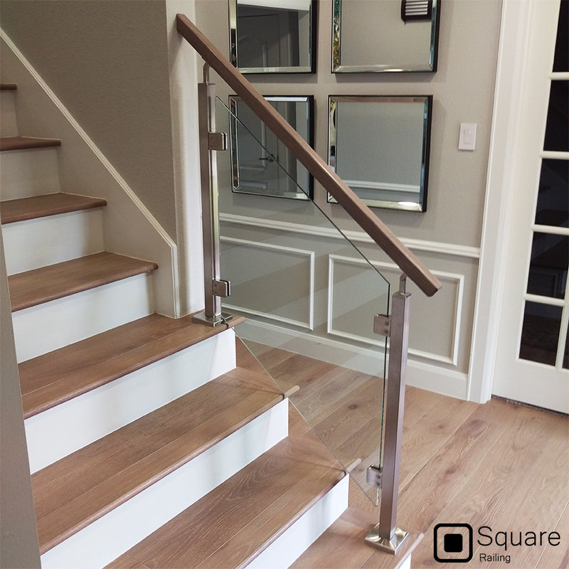 Contemporary Stainless Steel Railing Stair Parts