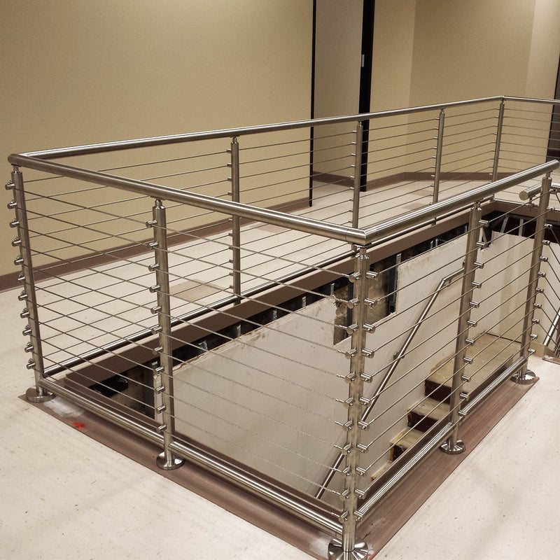 Modern Stair Cable Railing System
