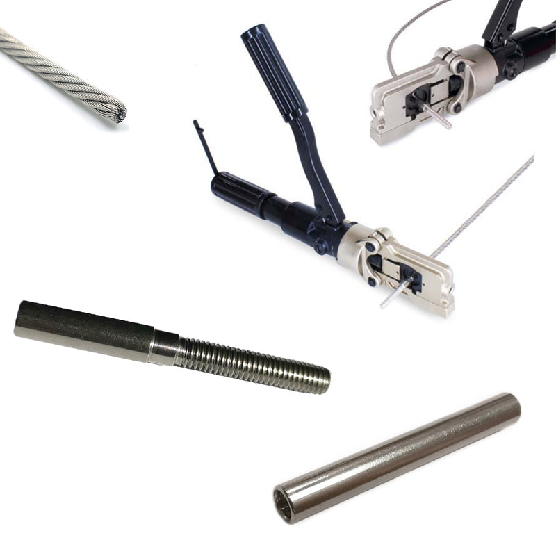 Stainless Steel Crimping Cable Terminals