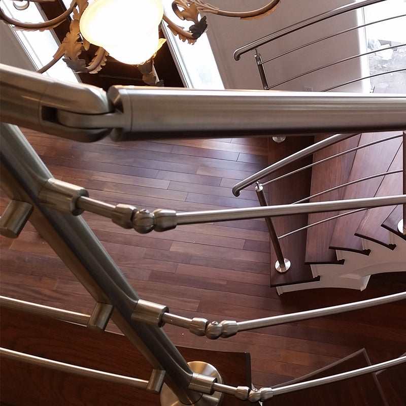 Contemporary Stainless Steel Railing System