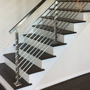 Modern Stainless Steel Flat Bar Railing System