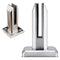 Modern Stainless Steel Floor Mount Square Glass Spigot