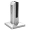Stainless Steel Floor Mount Square Glass Spigot