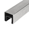 E10040X40 Stainless Steel Square Cap Rail for Glass Railing