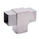 Stainless Steel E4733 3-Way T-Fitting for Square Railing