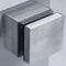 Modern Stainless Steel Square Standoff Glass Clamp