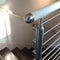 Contemporary Wood and Stainless Steel Railing System E690G