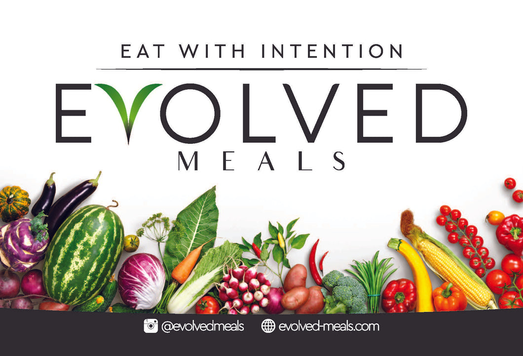 EVOLVED MEALS gift card