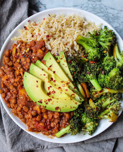 chipotle lentil chili - gf