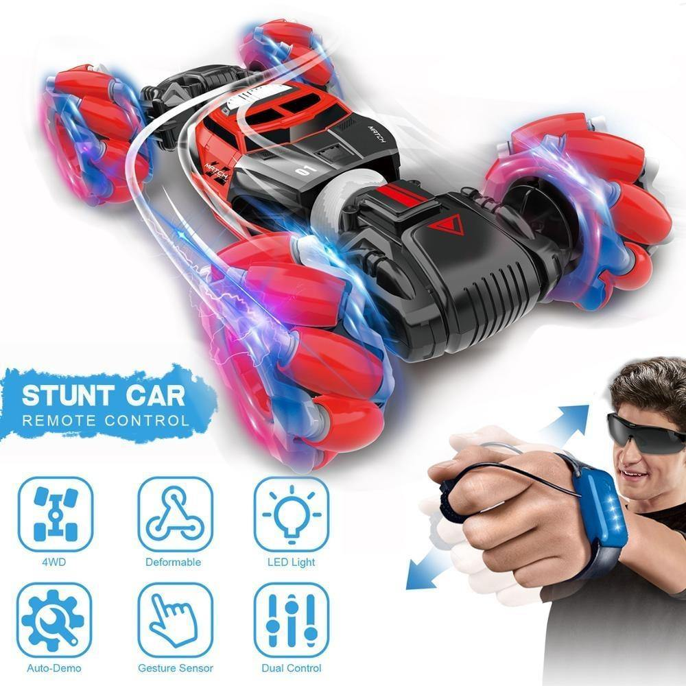 Gesture Sensing Stunt Remote Control Car - Hot Toy 2020