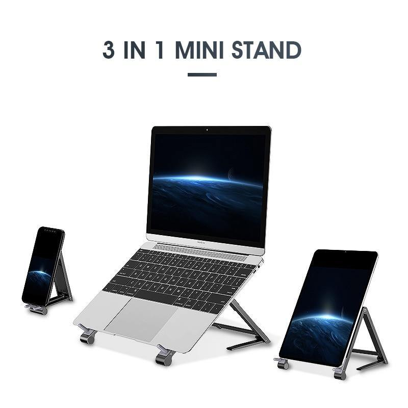 3in1 Mini Magic Stand - Laptop, Mobile Phone, Tablets