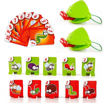 Chameleon Tongue Funny Board Game - Fun And Developing Toy