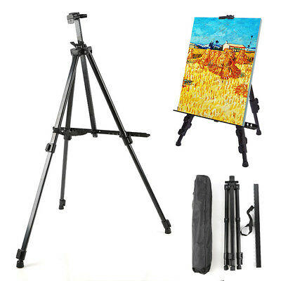 EaselPro™ Easel Stand - Standing Art Easel For Kids Or Adults - A Field Painters Easel With Carry Bag - Fully Adjustable Art Easels For Painting