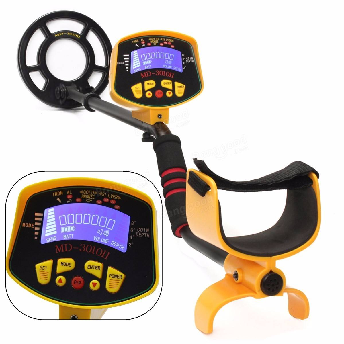 TreasureX™ Metal Detector Waterproof Underwater Hand Held Treasure Finder Gold Detector