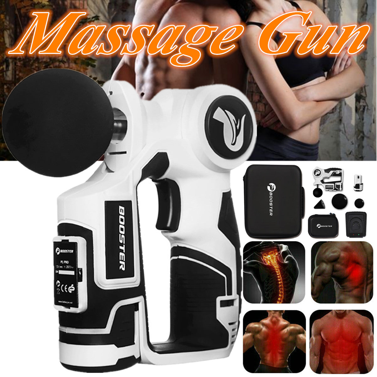 MassageProX3™ Booster Percussion Massage Device Professional Power Grade Massager - Markdown Mart
