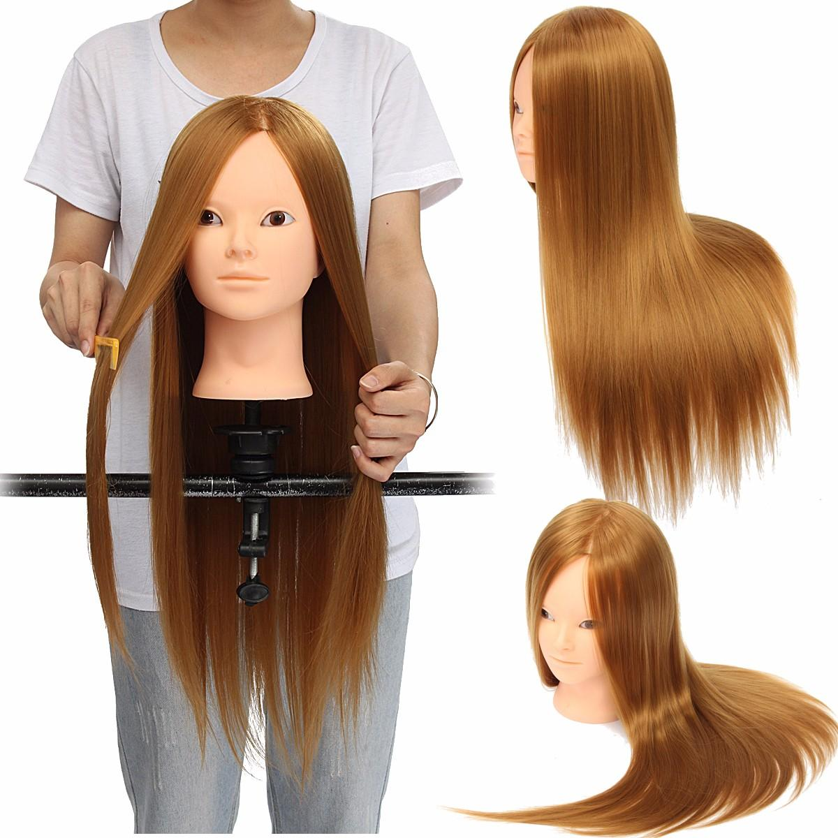 Beauty Headz™ Hair Training Mannequin Head Real Hair 24'' - Markdown Mart