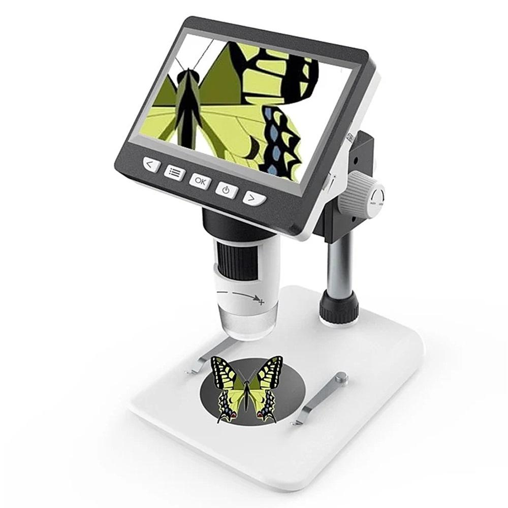 MicroTroniX™  LCD Digital Microscope Portable 4.3 Inches HD 1080P Desktop